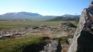 Långlunch bakom stenen