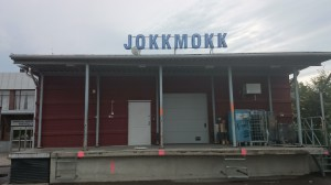 busstationen i Jokkmokk