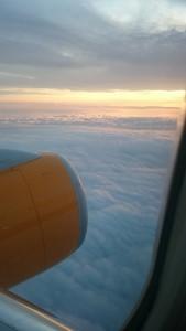 Högt ovanför molnen!