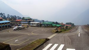 Tenzing Hillary airport i Lukla. Foto: Conny Andersson