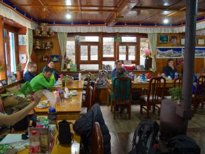 Lunch i Lukla. Foto: Conny Andersson