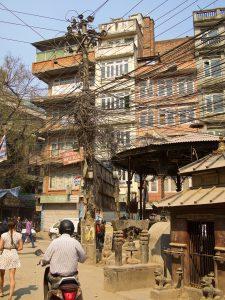 Elledningar i Kathmandu. Foto: Conny Andersson