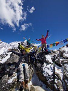 På toppen av Nagarjun Peak! Foto: Conny Andersson