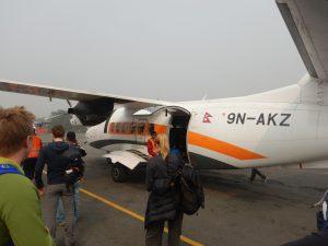 Inrikesflyg till Lukla