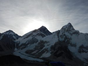 Soluppgång i Himalaya
