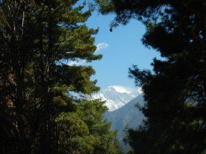 Sista gången vi såg Mount Everest.
