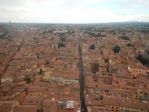 Hyfsad utsikt över Bologna