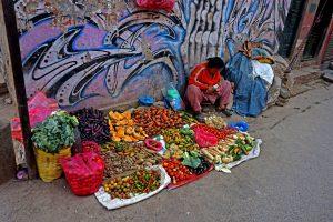 Fruktförsäljning! Foto: Jonas Holmgren