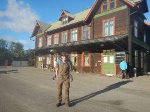 Tågstationen i Jörn